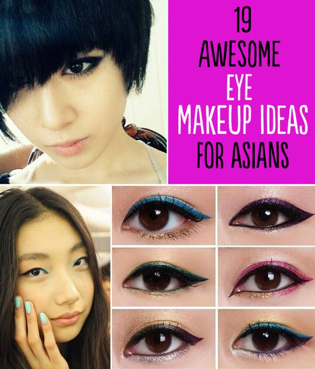 19 Awesome Eye Makeup Ideas For Asians