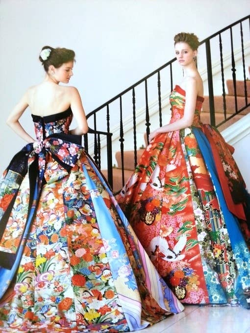 Nishitetsu Grand Hotels Kimono Wedding Dress