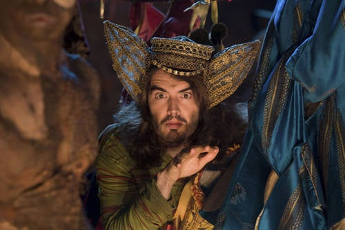 The comedian was Trinculo in the 2010 film version of The Tempest.