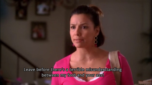 29 hilarious gabrielle solis quotes from desperate housewives. Black Bedroom Furniture Sets. Home Design Ideas