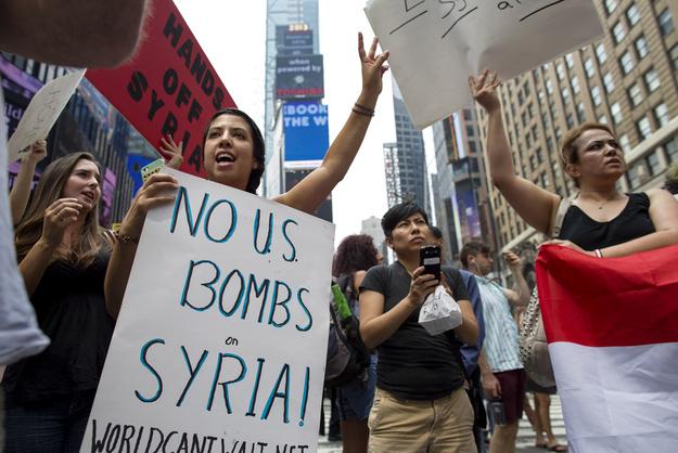 Syria Splits The Professional Left