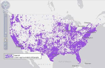 14 Maps That Show What Languages People Speak In The U.S.