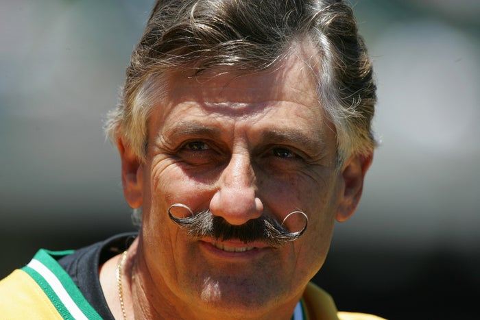 For 18 years, Rollie Fingers pitched for the Oakland A's, the San Diego Padres, and the Milwaukee Brewers, all while having the kind of mustache that you'd expect from a guy named Rollie Fingers.