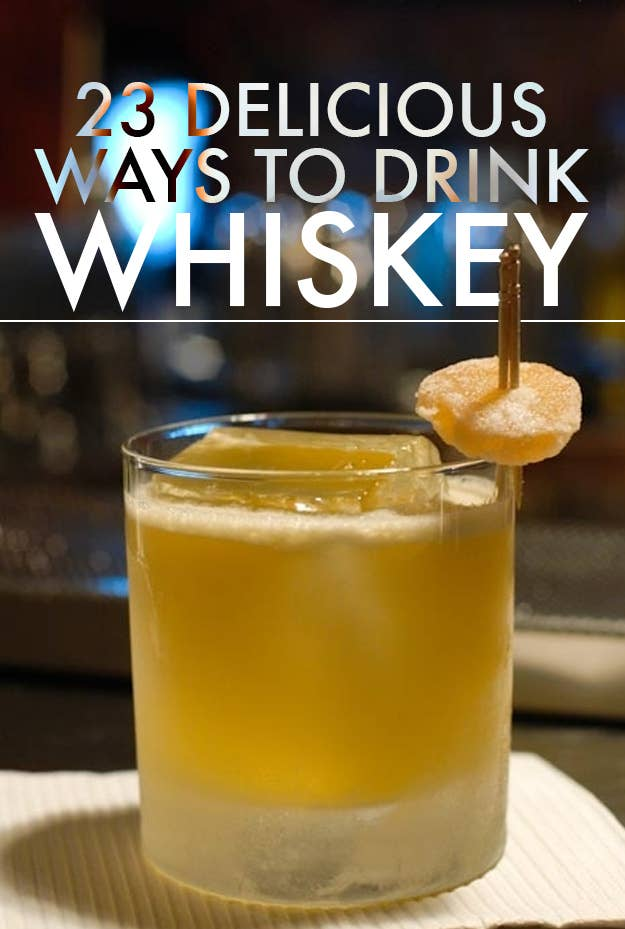 Mixed drink recipes with whiskey besto blog for Most popular whiskey drinks