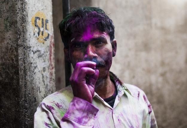 17 Amazingly Bright Pictures Of Holi Celebrations