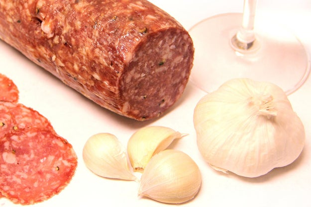 """""""Cured meats like proscuitto, speck, and salami."""""""