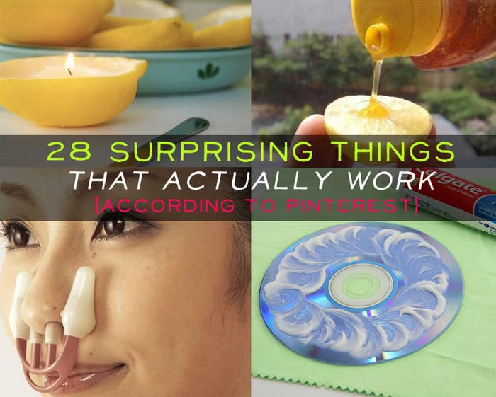 1143b3b77e6e 28 Surprising Things That Really Work, According To Pinterest