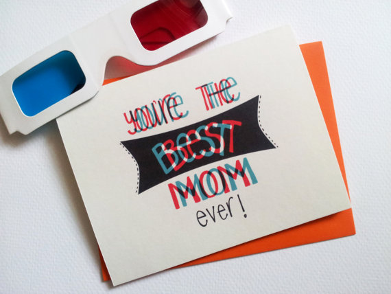 awesome cards to make any mom happy, Birthday card