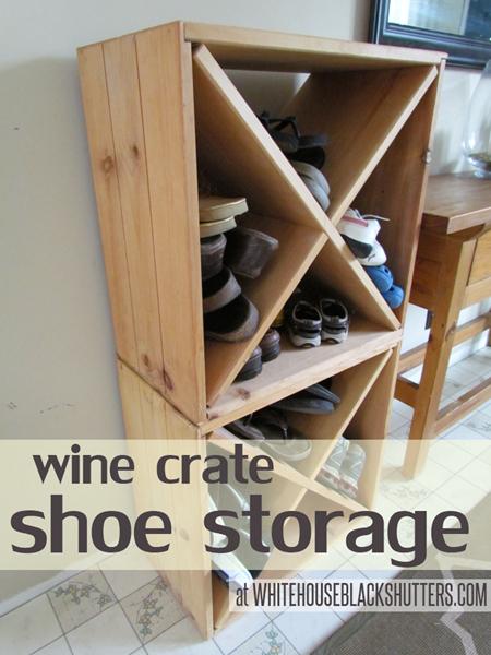 6 repurpose old wine crates