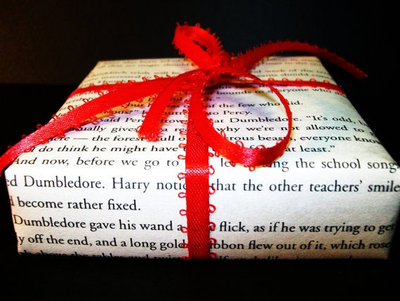 Any Harry Potter fan would be delighted to receive a gift wrapped in the corpse of their childhood.