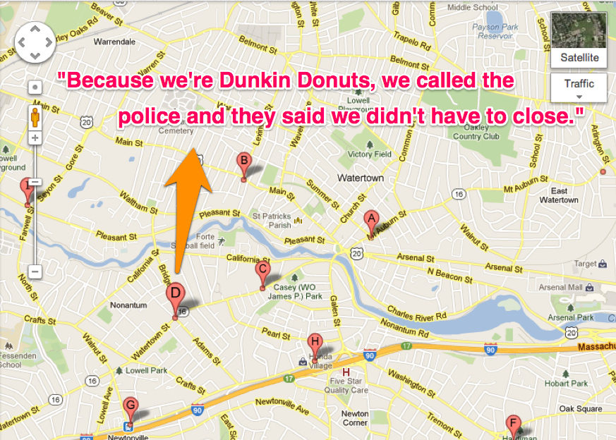 Dunkin Donuts In Boston Stayed Open During Lockdown