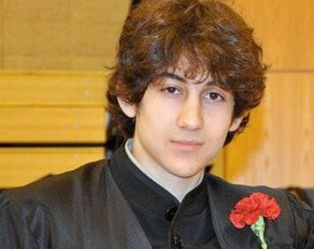 Suspect Dzhokhar A. Tsarnaev.