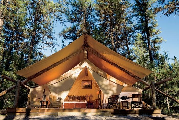 The Resort at Paws Up, Greenough, MT.