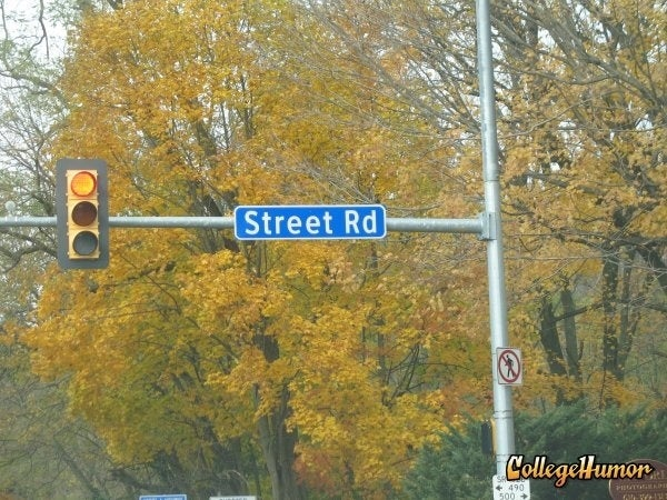 The creative street namer.