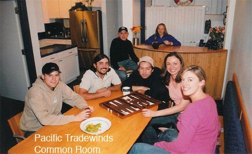 The Pacific Tradewinds hostel in San Francisco not only accepts bitcoin, it offers a 10% discount if you use them.