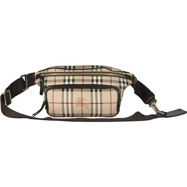 451ce09590af At  428.99 this Burberry fanny pack is on sale. You can use the money you