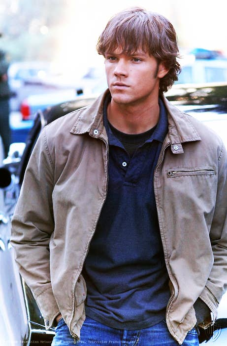 The evolution of jared padaleckis hair 4 the curl behind the ears urmus Choice Image