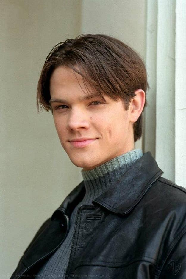 The evolution of jared padaleckis hair 2 the straight down the middle urmus Choice Image
