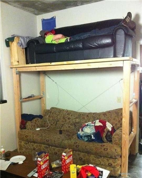 Sofa Bunk Beds