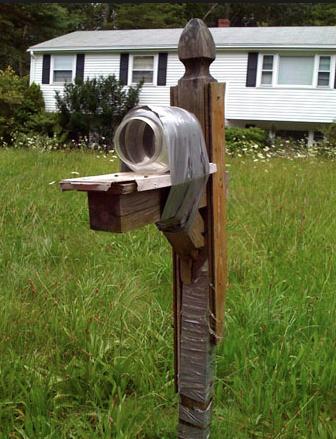 Mason Jar Mailbox