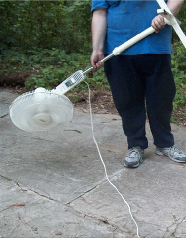 Fan Leaf Blower