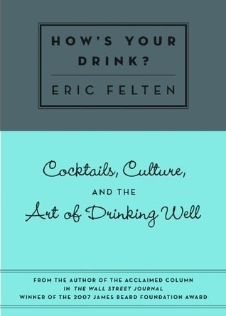 """As my colleague Ray says, """"You gotta learn how to drink like a person sooner or later."""""""
