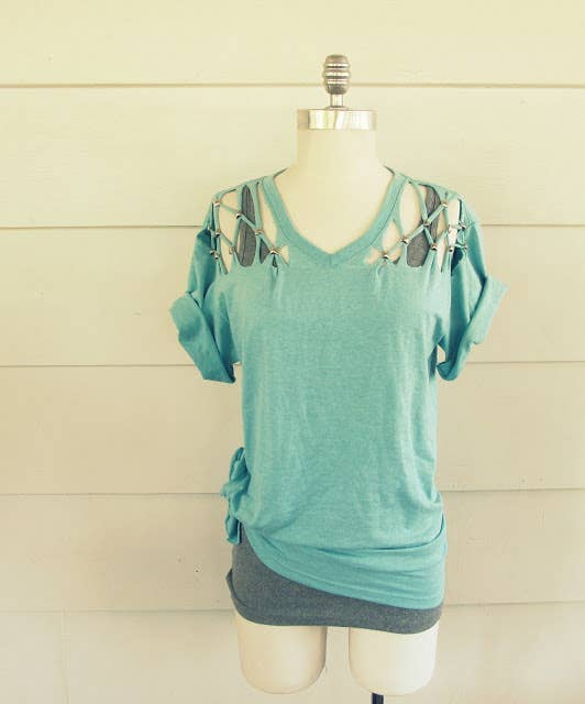 31 t shirt diys that are perfect for summer get the directions here solutioingenieria Gallery