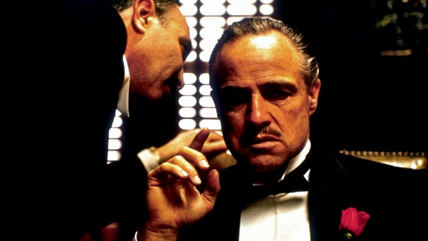 He's probably always been The Godfather to you