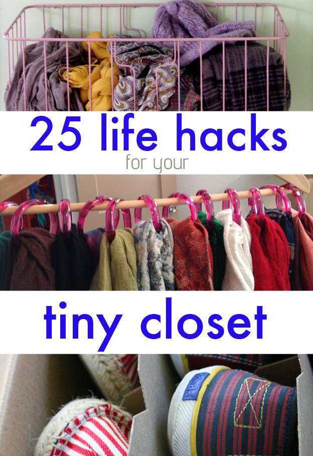 these 25 brilliant lifehacks for your tiny closet changes life. | ignorz