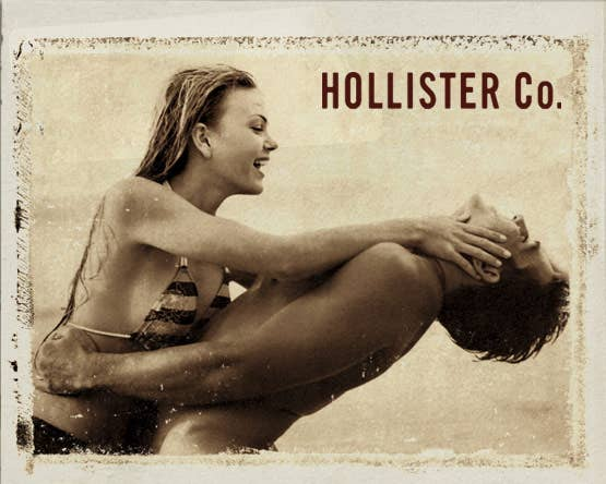 Hollister Co. was founded in July 2000. Fun fact: the brand created a fictional origin story. According to their fake history, John Hollister, Sr. emigrated from New York to the Dutch East Indies, and established the company bearing his name upon returning to the United States and settling in California in 1922.