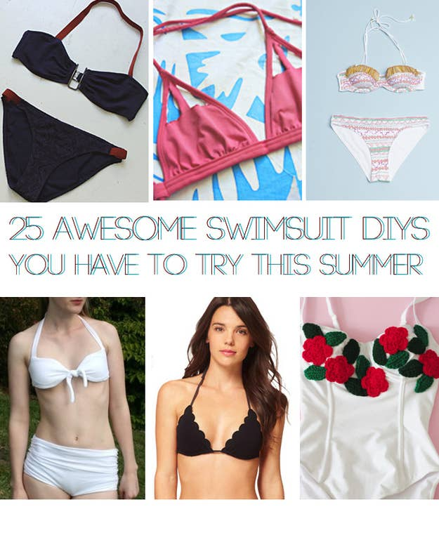 16416891c2 25 Awesome Swimsuit DIYs You Have To Try This Summer