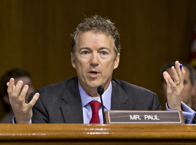 Rand Paul Seeks Money And Support In Silicon Valley