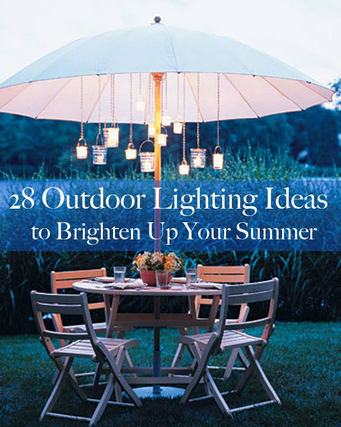 28 outdoor lighting diys to brighten up your summer share on facebook share keyboard keysfo Images