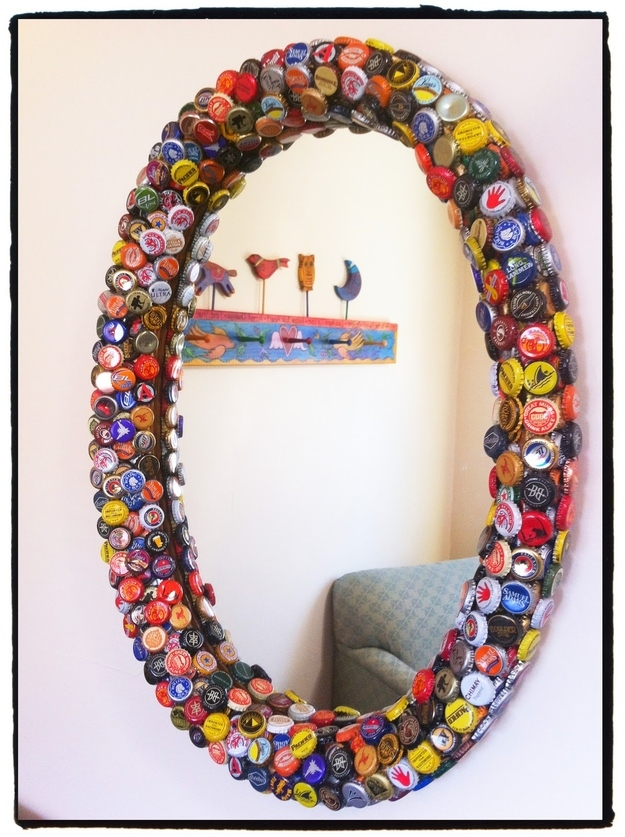 20 rad things you can make with bottle caps for How to make things with bottle caps