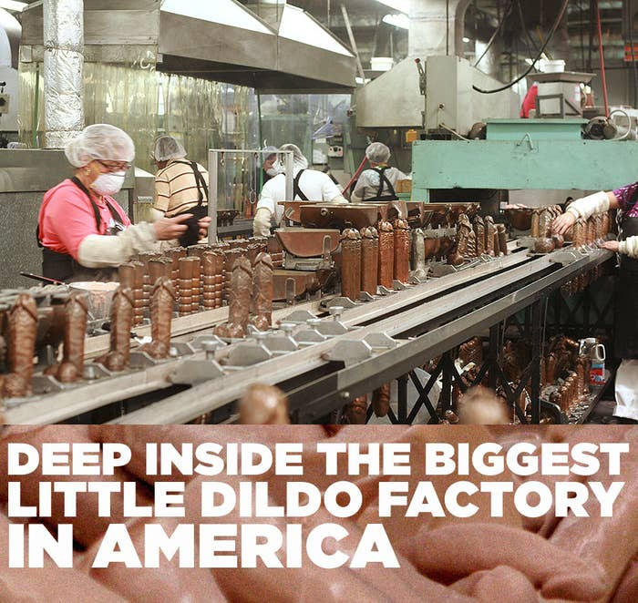 Deep Inside The Biggest Little Dildo Factory In America