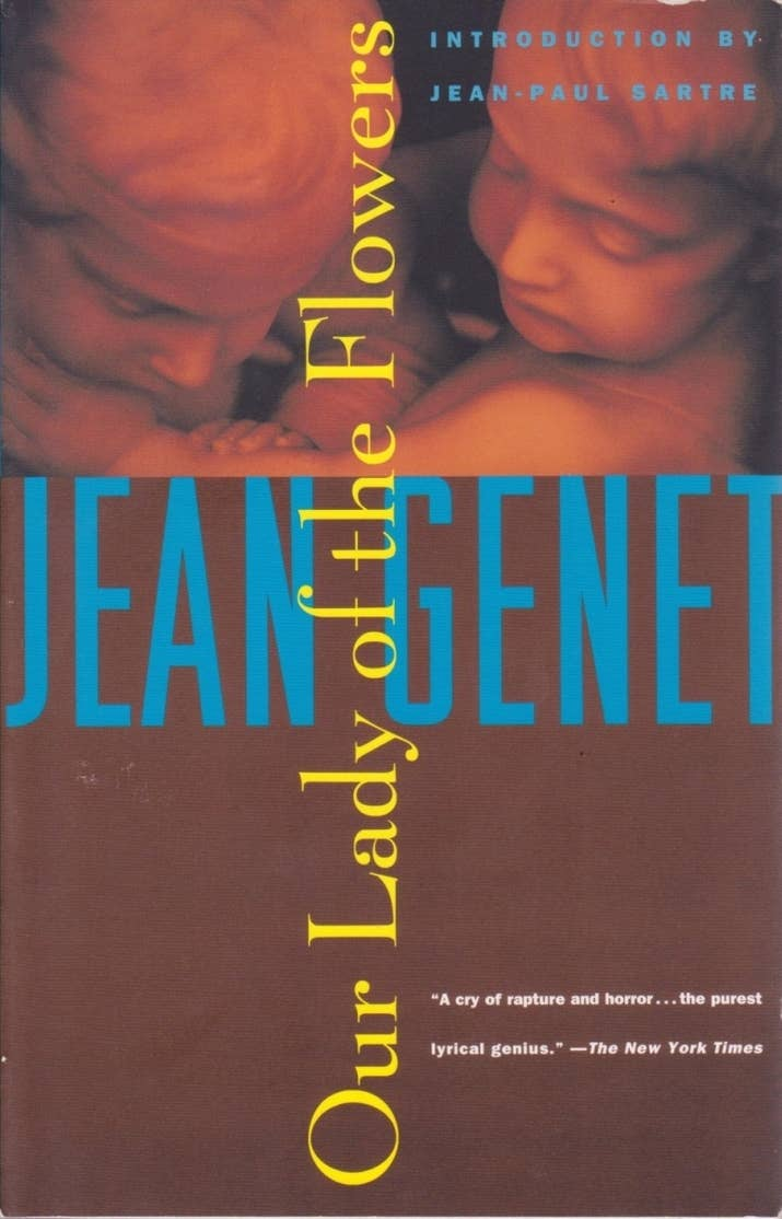 8 Our Lady Of The Flowers By Jean Genet (1943)