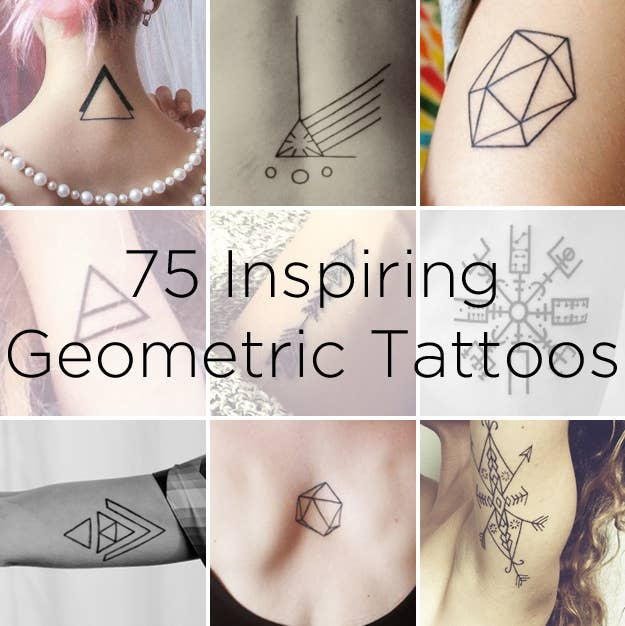 5423b748b 75 Graphically Gorgeous Geometric Tattoos