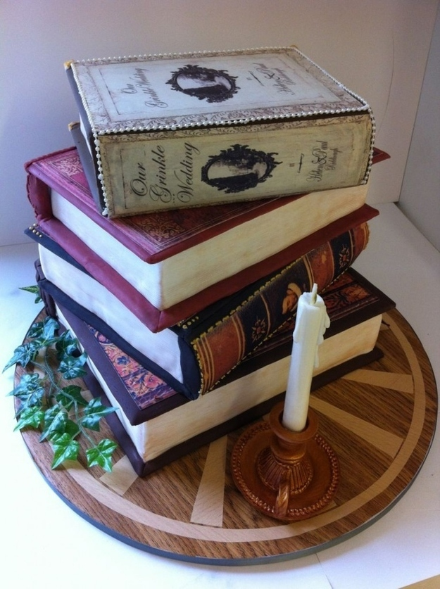 Cake Designs Book : 24 Incredible Cakes Inspired By Books