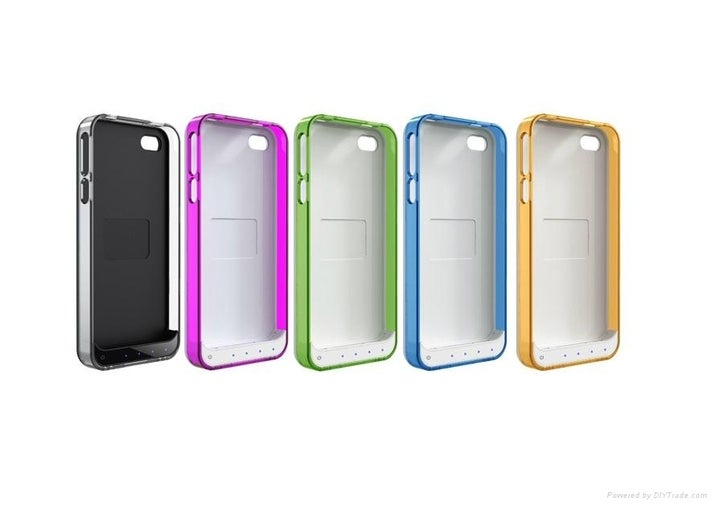 As much as we don't like to admit it, we humans are compelled to be on the phone all day, every day. Texting, taking pictures, and updating Facebook drains your battery. A rechargeable case will come in handy for several occasions! Buy it here.