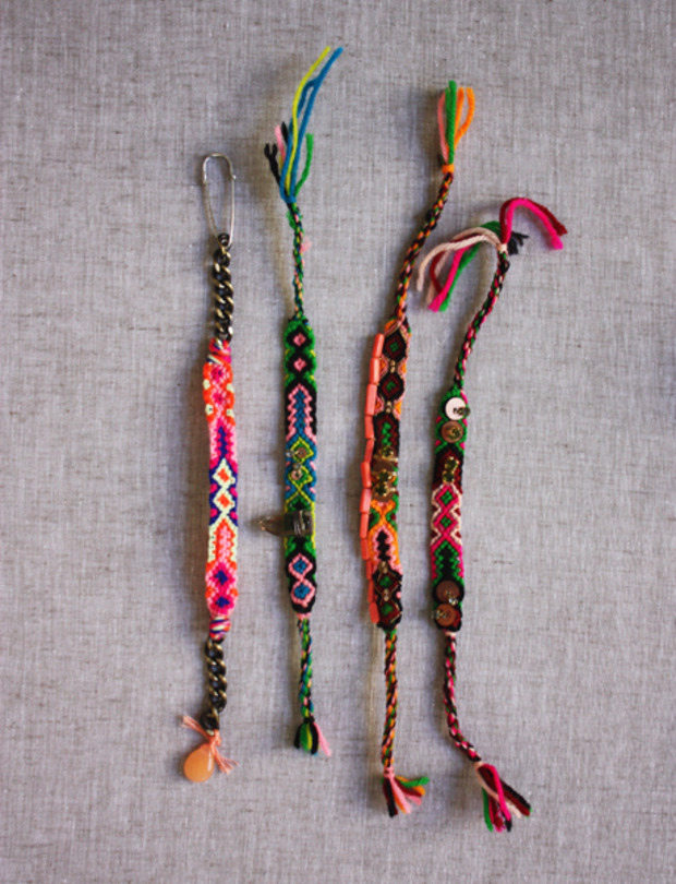 "15 ""Summer Camp Style"" Friendship Bracelets You Can Make Right Now"