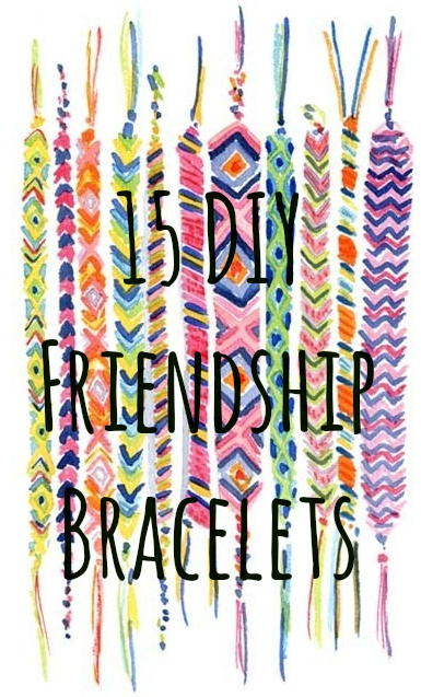Friendship bracelet embroidery thread tutorial