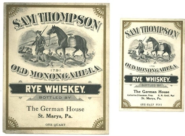 In 18th century Pennsylvania, the favored currency was whiskey — which was used for cooking, medicine, and drinking, among other things. That whiskey loyalty would eventually lead to the 1794 Whiskey Rebellion, where farmers fought against the taxes that threatened their liquor livelihood. That's a fight worth fighting, if you ask me.