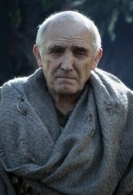 As Maester Luwin on Game of Thrones