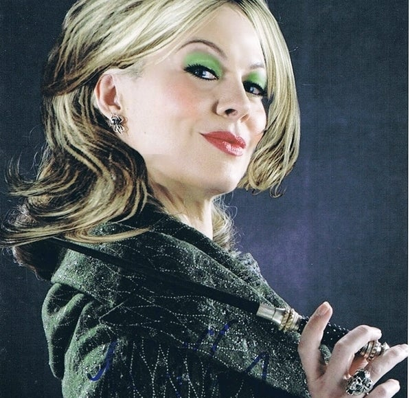 As Narcissa Malfoy in Harry Potter and the Half-Blood Prince