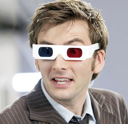 As The Doctor on Doctor Who
