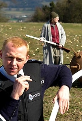 As Arthur Webley in Hot Fuzz