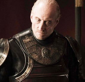 As Tywin Lannister on Game of Thrones
