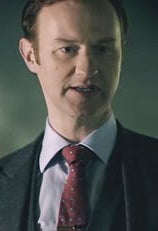 As Mycroft Holmes on Sherlock