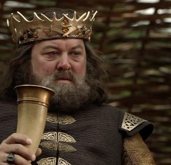 As Robert Baratheon on Game of Thrones