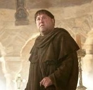As Friar Tuck on Robin Hood